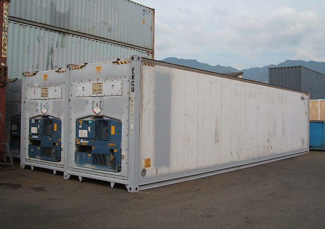 40フィート背高型冷凍冷蔵コンテナ